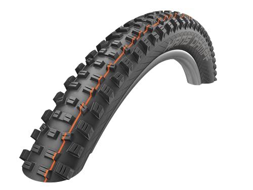 Schwalbe Unisex– Erwachsene Fahrradreife, schwarz, HANS DAMPF Evo, Super Gravity, TLE 60-584-SnakeSkin