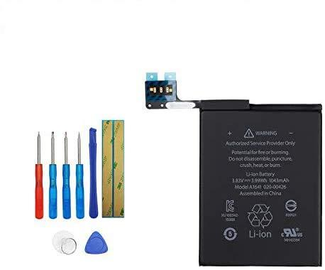 Upplus Batería de repuesto A1641 compatible con iPod Touch 6th Gen de 16 GB, 32 GB, 64 GB, A1574 y iPod 7,1 020-00425, 1043 mAh, con kit de herramientas