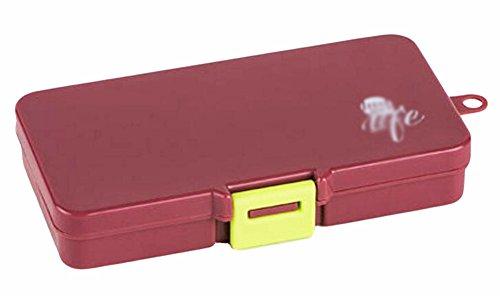 Portable 10 Grilles Pill Case décent Pilulier Pratique-Chocolat