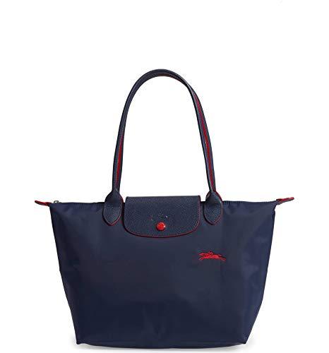 Longchamp Le Pliage Club Kleine Umhängetasche, Marineblau