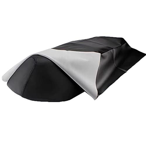 Funda Para Asiento Moto Cubierta de asiento de motocicleta Protector de asiento de cuero universal Resistencia al desgaste de la cubierta impermeable para la mayoría de los accesorios de reparación de