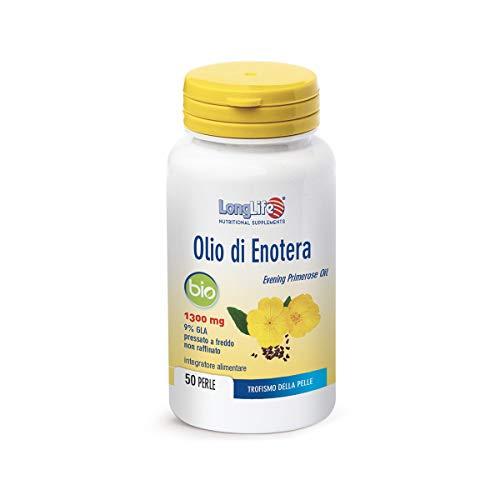 Longlife Olio Di Enotera Bio 1300Mg - 90 Gr