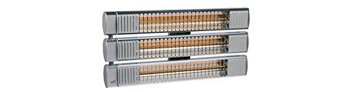 Burda Infrarot Kurzwellen Heizstrahler Term 2000 IP65 Multi RCC495, 4.950W - 240V, silber