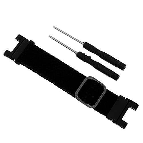 Abaodam Correa elástica de repuesto para correa de reloj, correas de reloj intercambiables, compatible con T- Rex/T-Rex Pro (negro)