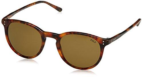 Polo Ralph Lauren Herren 0PH41101773 Sonnenbrille, Braun (Shiny Havana Jerry/Olive Green), 50