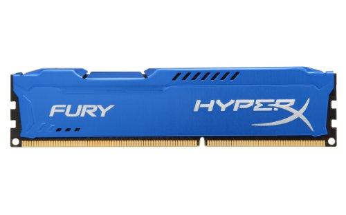 HyperX Fury - Memoria RAM de 4 GB (1333 MHz DDR3 Non-ECC CL9 DIMM), Azul