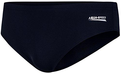 Aqua Speed Alan Baúles de baño para Hombres Cortos | Baúles de baño Cortos clásicos | Deportes acuáticos, Größe:S, Farbe:Blau