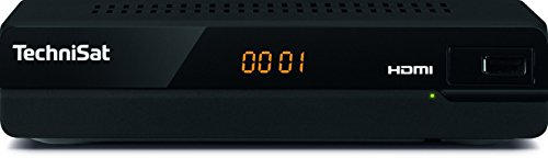 TechniSat HD-S 221 - digital HD Satelliten Receiver (Sat DVB-S/S2, HDTV, HDMI, USB Mediaplayer, vorinstallierte Programmliste, Sleeptimer, Fernbedienung, kompaktes Gehäuse) schwarz