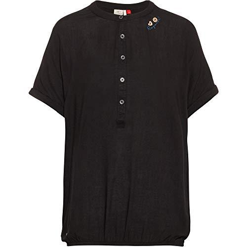 Ragwear Damen Ricota T-Shirt schwarz XL
