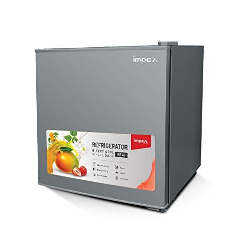Impex IRF-46 Direct-cool Single Door Minibar Refrigerator (46 Litres,Metallic Silver)