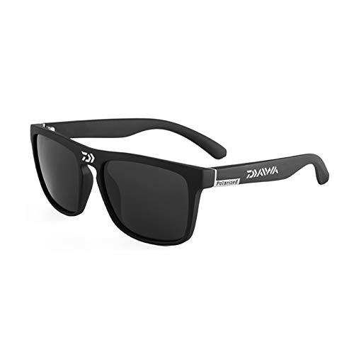 QQGGTongFeng Clásico Gafas de Sol polarizadas Hombre Conducción Camping Senderismo Pesca Classic Sun Gafas Deportes al Aire Libre UV400 Gafas para Exterior (Color : DGB5)