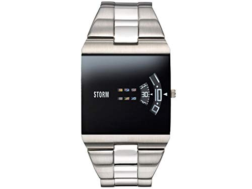 Storm London New REMI SQ Black 47430/BK Montre-Bracelet pour Hommes