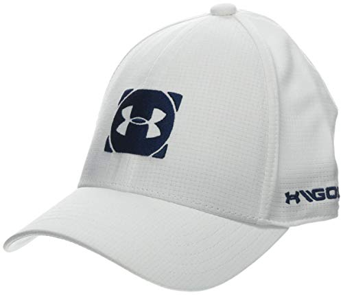 Under Armour Boy's Official Tour Cap 3.0 Gorra, Niños, Blanco (White/Academy 100),...