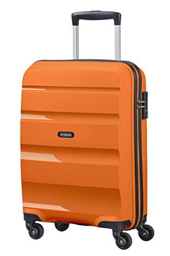 American Tourister Bon Air - Spinner Small Strict Equipaje de Mano, 55 cm, 31.5 Liters, Naranja (Tangerine Orange)