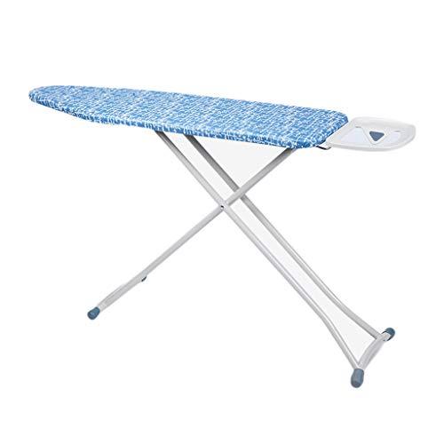 GBPOY Tabla de Planchar Tabla de Planchar Grande de la Malla de Hierro para el hogar, Tabla de Planchar Ajustable, Azul de 107 * 85 CM Mesa de Planchar portátil (Color : Blue)