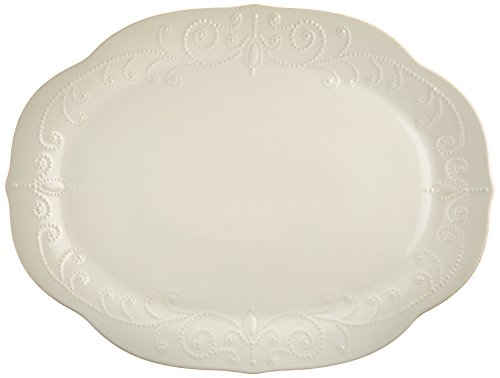 Lenox French Perle Oval Platter, White - 822957