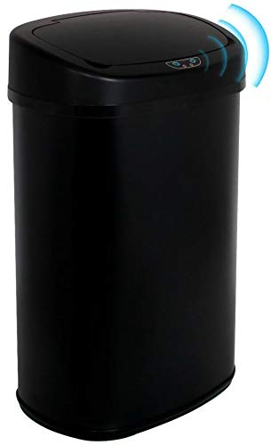 13 Gallon Milwaukee Mall Touch Free Automatic Stainless Garbage We OFFer at cheap prices Steel Trash Can