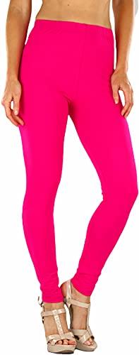 ToBeInStyle Women's Neon Footless Elastic Leggings, Many Colors