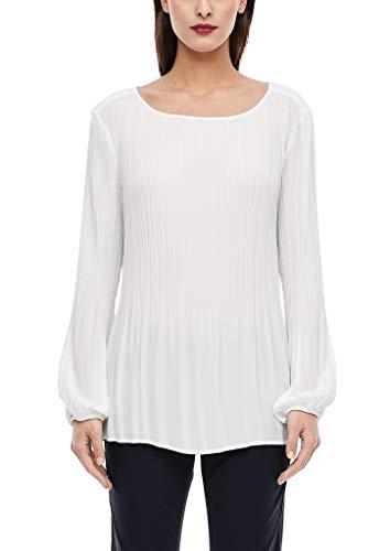 s.Oliver BLACK LABEL Damen 01.899.11.2937 Bluse, Cream, (Herstellergröße: 38)