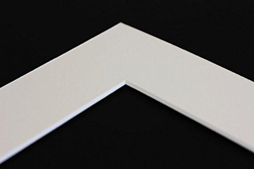 Online Galerie Bingold Passepartout Weiß - Über 25 Größen - Außenmaß 70x100, Bildmaß 39x59