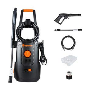 LawnMaster LT502-1800A Electric Pressure Washer 13 Amp 1.4 GPM 1800W 2100 PSI