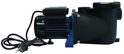 Aqualux Pompe Filtration Piscine - Modèle 1/2 - Débit Max 9.5 m³/h - avec Préfiltre Intégré - Couvercle Quick Lock sans Vis - EDG 100518 (à Utiliser avec Un Filtre à Sable ou à Cartouche)