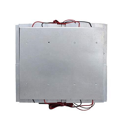 Modulo electronico Módulo de placa de enfriamiento del radiador del radiador de la refrigeración del semiconductora con cuatro ventiladores DC 12V 30A