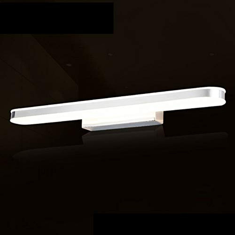 SXFYHXY Spiegellicht LED Wasserdichte Anti-Fog Makeup Umkleidekabine für Bad Spiegel Kabinettslicht,Weiß,62CM12W