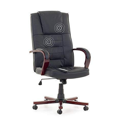 Leder Chefsessel Massagesessel Bürostuhl Drehstuhl
