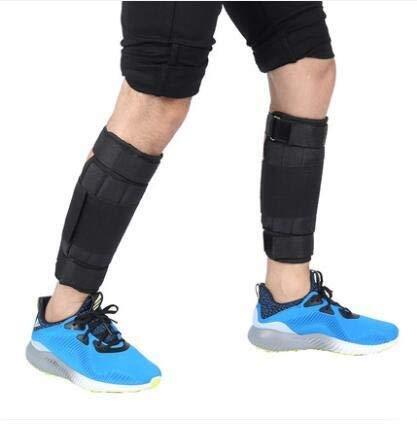 NA Leggings in Corso Sandbag in Acciaio del Modello Piastra Suzakoo portante Gamba (Color : Foot Tie Type)