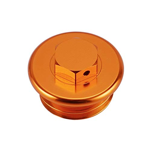 Anhuidsb Motorrad CNC Billet Motor Öleinfüllstopfens Cap for KTM 690 Enduro/R SMC-R 790 Adventure/R Duke 2019 2020 1290 SUPER Duke R/GT anhuidsb (Color : Orange)