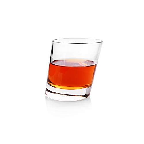 MIAO. Loodvrije glazen whisky beker, schuin wijnglas, sap beker drinken kopje water beker enkele kop