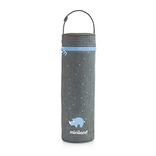 Miniland Isoliertasche für Babyflaschen/ Isolierflaschen 500ml - THERMIBAG SILKY AZURE