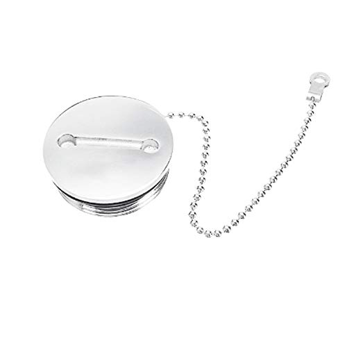 Best Price Nologo Durable Stainless Steel Deck Fill Replacement Cap and Chain Boat Marine Hardware E...