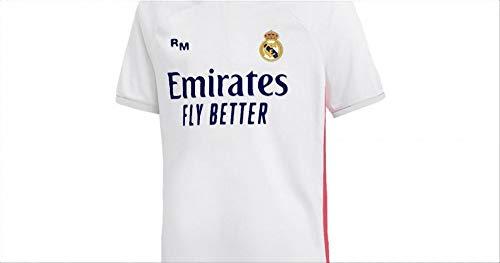 Real Madrid 2020/21 – Camiseta réplica oficial con licencia – Talla 10 años