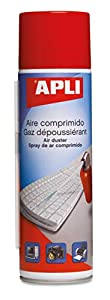 APLI 011307 - Aire comprimido inflamable Normal 400 ml