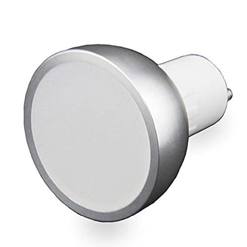 XINGYUE WiFi Smart LED Bombilla redonda Cambio regulable Multi-color GU10 Control de voz No requiere Hub Iluminación Accesorios Focos Luces de techo negro