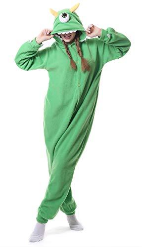 FunnyCos - Pijama unisex con capucha para adultos, disfraz de Halloween