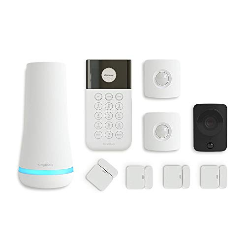 SimpliSafe 9 Piece Wireless Home Security System...