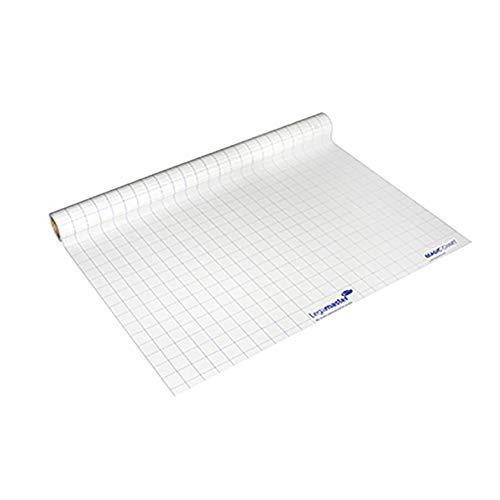 Legamaster 7-159000 Magic-Chart Flipchart, elektrostatische Folie für verschiedene Oberflächen, gerollt 25 Blatt (je 60 x 80 cm)