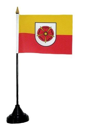 Fahne / Tischflagge Lippe Rose Tischfahne Flagge