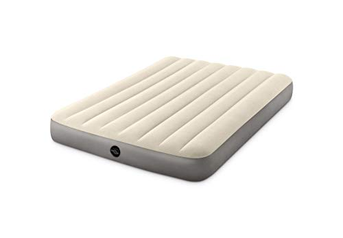 comparateur INTEX 64102 Matelas Downy Fibertech 2 places, beige