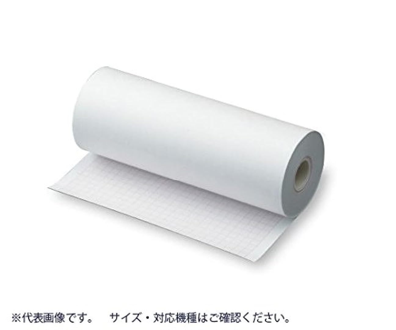 つば割合まもなく心電図用記録紙(ロ-ル紙型) 210mm×30m /8-7041-03