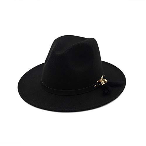 liqun Sombrero De Invierno para Mujer, Sombrero De Fieltro...