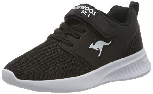 KangaROOS KL-Hinu EV Sneaker, Jet Black 5001, 37 EU
