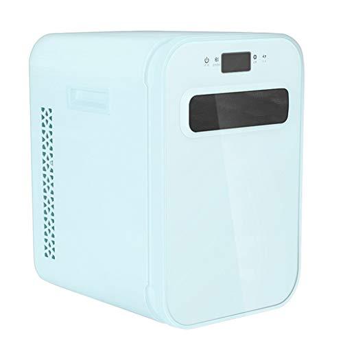 Mini Refrigerador Refrigerador Electrónico-Pantalla De Visualización Digital LED/Reducción De Ruido Silencioso/Ahorro De Energía Y Protección del Medio Ambiente, Voltaje De Entrada 12V / 220V
