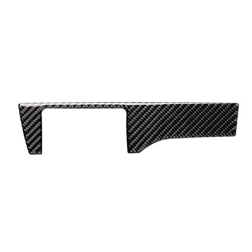 fgyhtyjuu Ersatz für Honda Civic 10th Gen Panel Abdeckung, Scheinwerfer 2016-2019 Auto Scheinwerfer Schalter Panel Verkleidung Carbon Fiber Decor