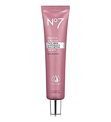Boots No 7 Restore & Renew Face & Neck MULTI ACTION Serum, ***Large 50 ml*** from Boots