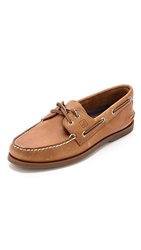 Sperry Men s Authentic Original 2-Eye Boat Shoe, Sahara, 8 M US