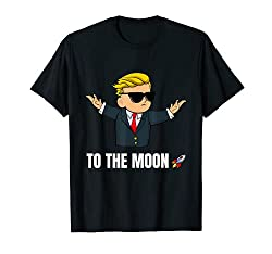 Wall Street Bets Mascot - To The Moon - Wall Street Bets T-Shirt